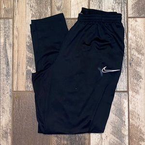 Nike Sweatpants, very comfortable, they are looser